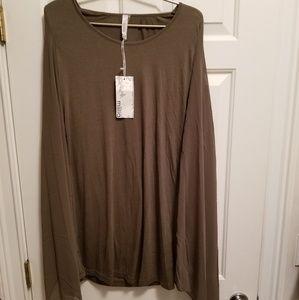 Miilla Long Sleeve Knit Draped Dress